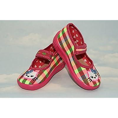 abdream , Chaussures souple pour bébé (garçon) Rainbow Kitten 3