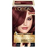 L'Oreal Paris Superior Preference Fade-Defying Color + Shine System, RR-04 Intense Dark Red(Packaging May Vary)