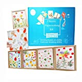 Complete Handmold Papermaking Kit Handmade Paper Art Crafts Set for Children with Screen Frame Great Gifts for Girls Boys Makes 8.2 x 11.6 inch Paper(A4)