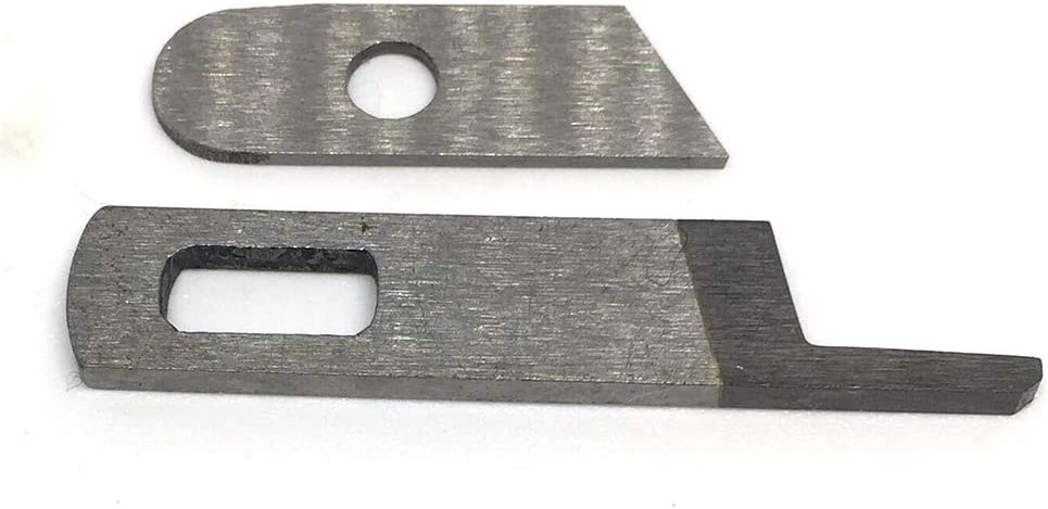 SEWSTITCH Upper + Lower Knives Blades #412585,550449 Compatible with Singer Serger 14U 14SH 14CG Machine