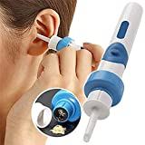 Aochol Electric Earwax Removal Kit,Smooth Spoon Head, No Stimulation Ear Pick Clean Tools