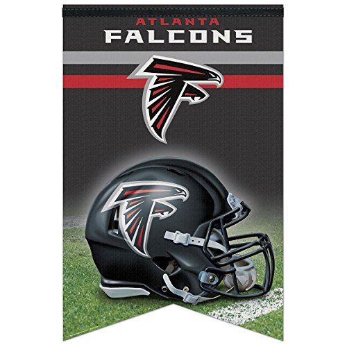 Nfl Premium Banner (NFL Atlanta Falcons WCR94124013 Premium Felt Banner, 17