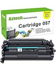 Aztech Compatible Toner Cartridge Replacement for Canon 057 Toner Cartridge for Canon ImageCLASS MF445dw MF448dw MF449dw LBP226dw LBP227dw Printer Ink (Black, 1-Pack)