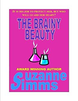 The Brainy Beauty by [Simms, Suzanne]