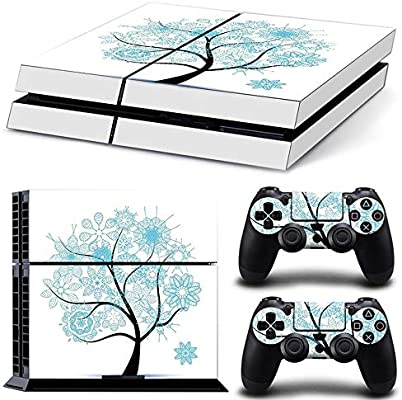 Sololife Bear PS4 - Skin de Vinilo para Consola de Sistema Playstation 4 y Controladores Blue Lift Tree: Amazon.es: Electrónica
