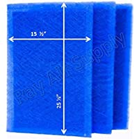 Dynamic Air Cleaner Replacement Filter Pads 17 x 28 Refills (3 Pack)