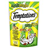 Temptations Mix-Ups Treats for Cats - Chicken & Catnip & Cheddar - 85g (12 Pack)