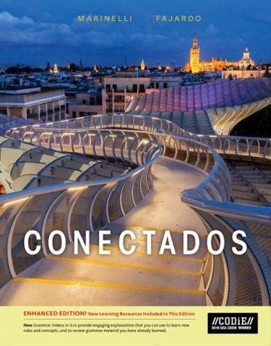 Conectados (with Communication Manual, Enhanced and iLrn Heinle Learning Center, 4 terms (24 months) Printed Access Card