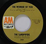 THE SANDPIPERS 45 RPM THE WONDER OF YOU / THAT NIGHT