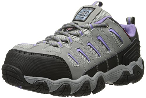 Skechers for Work Blais Athol Low Hiker,Dark Gray,8 M US