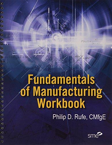 Fundamentals of Manufacturing Workbook