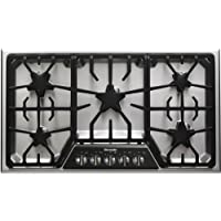 Thermador Masterpiece Deluxe Series SGSX365FS 36 Gas Cooktop 5 Star Burners