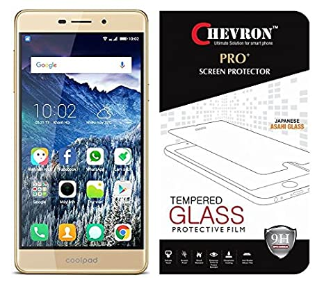 Chevron Tempered Glass Screen Protector for Coolpad Mega 2.5D Screen guards