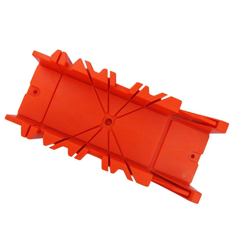 petsola S/äge Mitre Box Holzbearbeitung Mitre Box Precision Hand Gehrungslade 12 Zoll