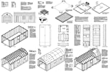 12' X 24'Barn/gambrel Shed/garage Project Plans