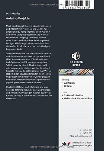 Arduino-Projekte: 9783864904158: Amazon.com: Books