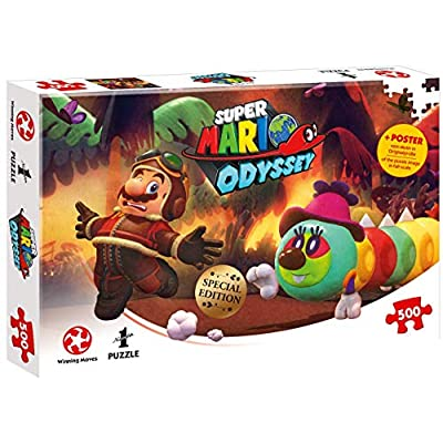 Winning Moves GmbH Super Mario Jigsaw Puzzle: Toys & Games