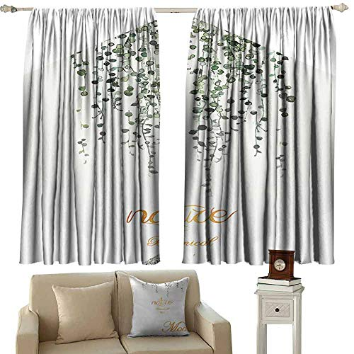(Mannwarehouse Noise Reduction Curtain Texture for Design Can be Used as Background Set of Two Panels 63