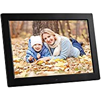YENOCK Digital Picture Frame, 13.3 inch 1280x800 Support HDMI MP3 Video & Music Playback Calendar Photo Frames Remote Control (Unique UI Surface)