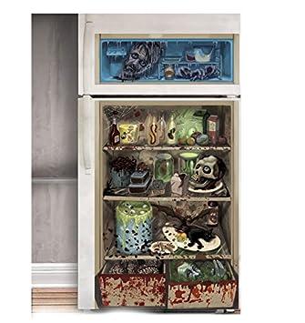 Kühlschrank Deko.Zombie Kühlschrank Deko Ihr Küchenknecht Als Splatter