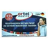 Ortel Mobile German Prepaid SIM Card