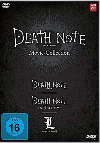 Death Note Movies 1-3: Death Note, The Last Name, L-Change the World - DVD-Box