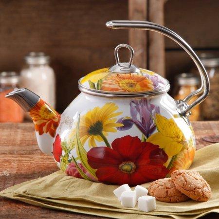 The Pioneer Woman Flower Garden Tea Kettle, 2.3 qt