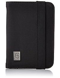 Victorinox 31172201 Funda para Pasaporte Con Protección Rfid de Nylon, Negro