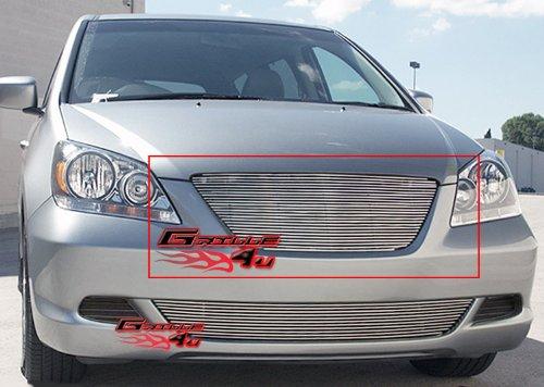 [APS H87119A Polished Aluminum Billet Grille Replacement for select Honda Odyssey Models] (Odyssey Billet)