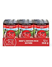 Purina ONE Wet Dog Food, Beef & Brown Rice 368g (12 Pack)
