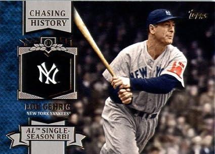 Amazoncom 2013 Topps Chasing History Baseball Card Ch 10
