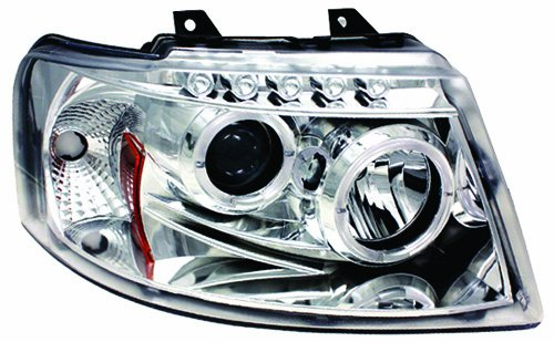 IPCW CWS-517C2 Ford Expedition 2003 - 2006 Head Lamps, Projector With Rings Chrome B006BURRO0