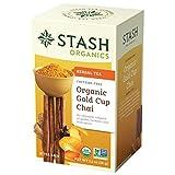 Stash Tea Organic Gold Cup Chai, 18 Count