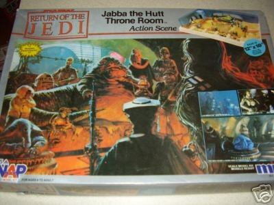 - Star Wars Return of the Jedi Jabba the Hutt Throne Room Model Kit