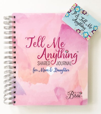 Kai Kai Brai - Mom & Daughter Journal - Pink Watercolor