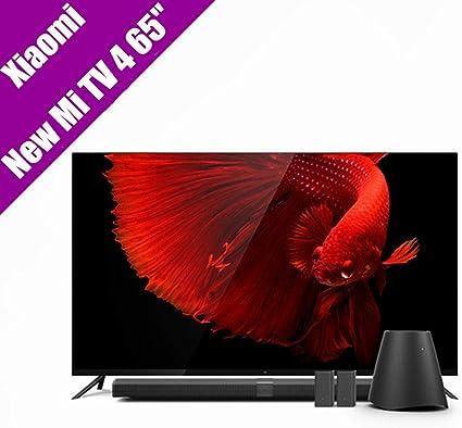 Original Xiaomi Mi TV 4 65 pulgadas Inchs Smart TV English Interface Real 4 K HDR Ultra Thin Television 3d Dolby Atmos WiFi/BLE Connect: Amazon.es: Electrónica