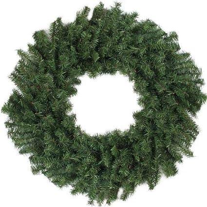 Amazoncom Darice 24 Canadian Pine Artificial Christmas Wreath