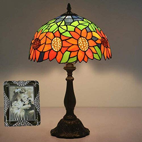 Bedside Table Lamp European Pastoral Retro Creative Bar Cafe Restaurant Decoration Table Lamp