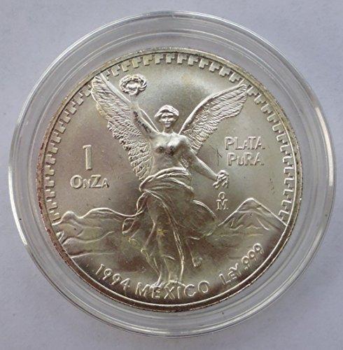 1994-mexico-mexico-1-oz-silver-libertad-1-nearly-choice-brilliant-uncirculated