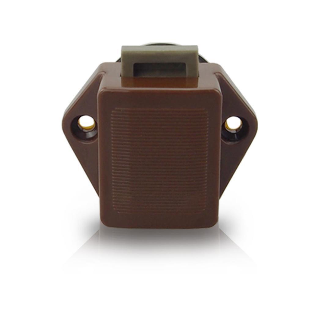 Sharplace 3 Pcs 20mm Bouton Poussoir Attraper Serrure Armoire De Porte Camping-car