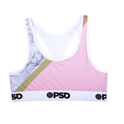 33eb1388e05dd Amazon.com  PSD Underwear Women s Marble Bra  Sports   Outdoors