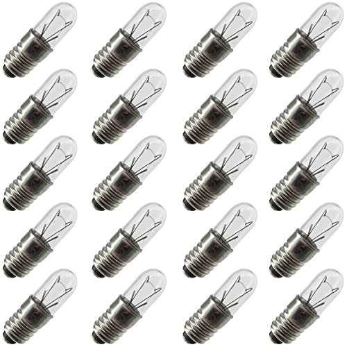 (Industrial Performance 1767, 0.5 Watt, T1.75, Midget Screw (E5) Base Light Bulb (20 Bulbs))