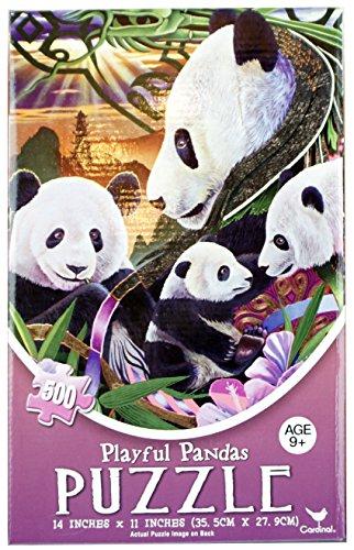 New Playful Panda Jigsaw Puzzle