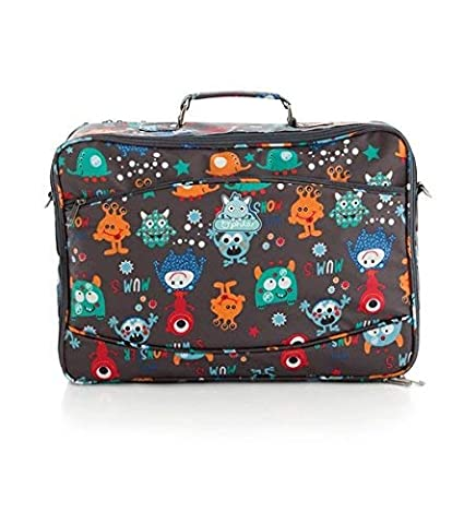 Pirulos 47330620 - Maleta, diseño monsters, 44 x 32 x 17 cm ...