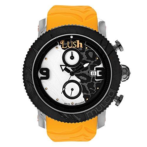 MULCO Unisex MW5-2496-915 Chronograph Analog Watch (Tiger Steel Chronograph Stainless)
