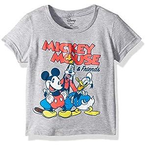 Disney Boys' Toddler Mickey Mouse & Friends Short Sleeve Tshirt