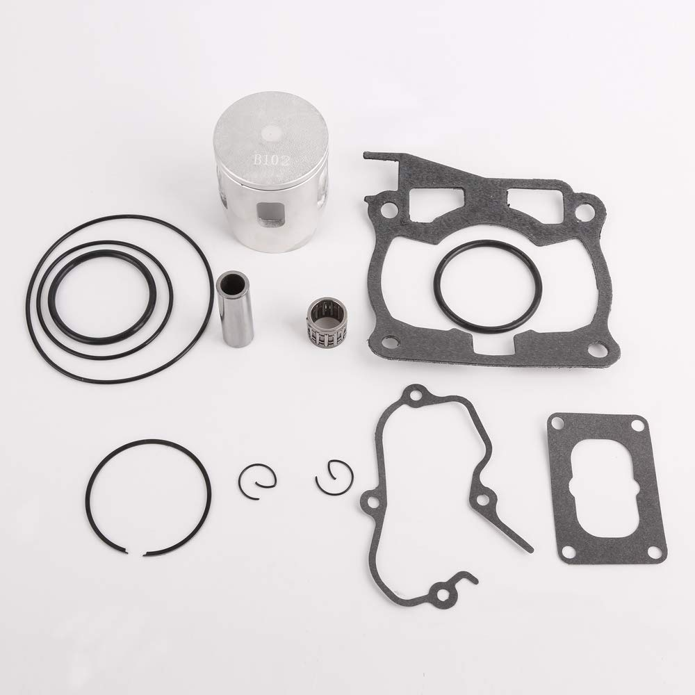 CQYD New YZ125 Top End Rebuild Kit For Yamaha Yz 125 YZ125 Piston Rings Gasket O-Ring Kit Set 1998-2001 by CQYD