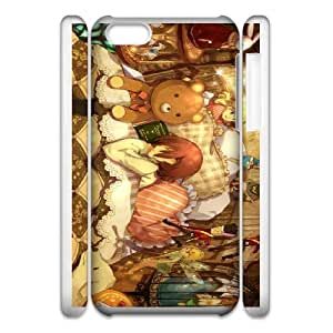 asleep iphone 5c Cell Phone Case 3D White yyfD-061781