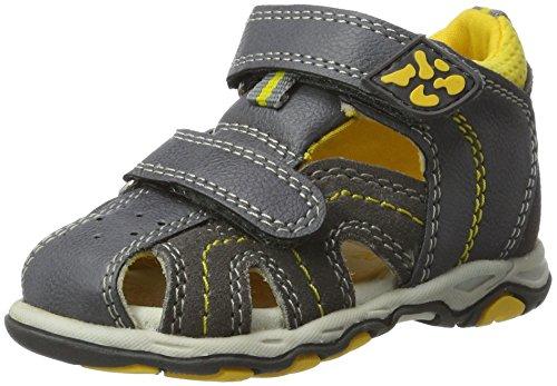 Lurchi John - Botas de senderismo Bebé-Niñas gris (Dk.Grey)