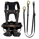 Fusion Climb Pro Backyard Zip Line Kit Harness Lanyard Bundle FK-A-HL-12